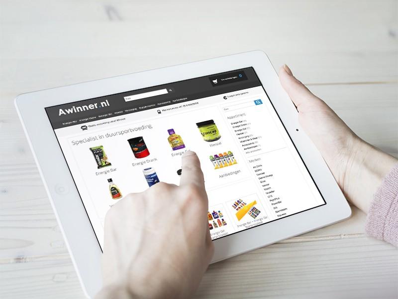 Vernieuwde sportwebwinkel voor Awinner.nl!